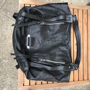 Black kooba hobo